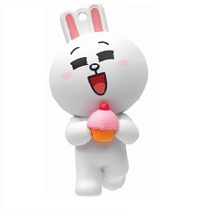 LINE FRIENDS 3D Octopus Ornament - Cony Adult version