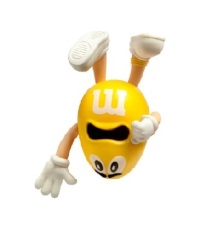 M&M's 3D Octopus Ornament - Yellow