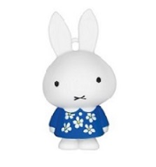 Miffy 3D Octopus Ornament -Birthday floral dress version