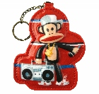 Paul Frank Octopus Ornament - Hip Hop version