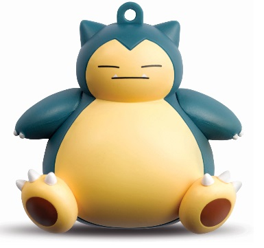 Pokemon 3D Octopus Ornament-Snorlax Adult version