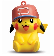 Pokemon 3D Octopus Ornament -Pikachu Child version